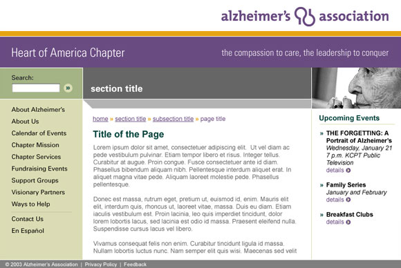 Alzheimer's Association Heart of America Chapter