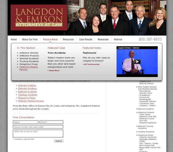 Langdon & Emison interior