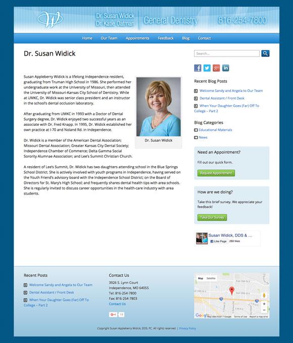 Dr. Susan Widick